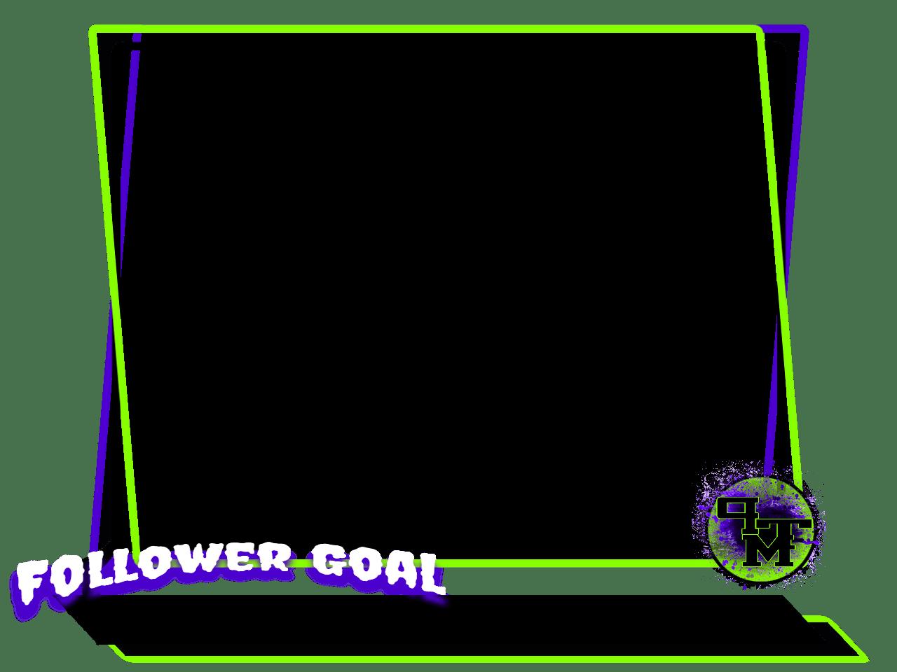 Video border png. Ptm pixteller design black