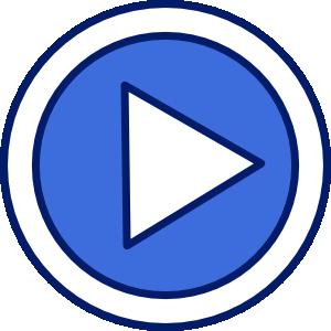 Video clipart. Symbols