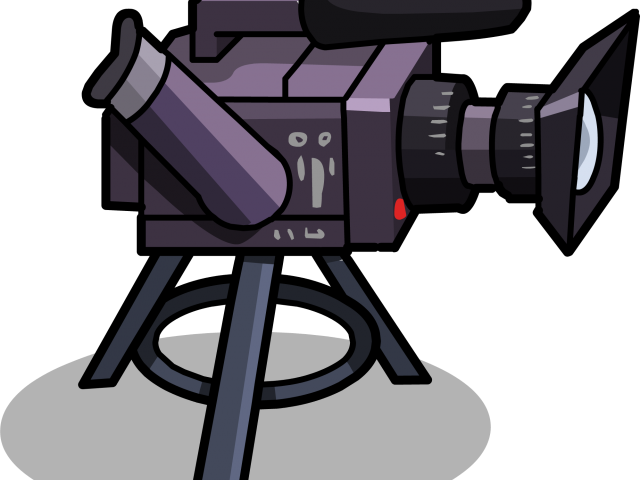Video clipart film club. Camera animation png