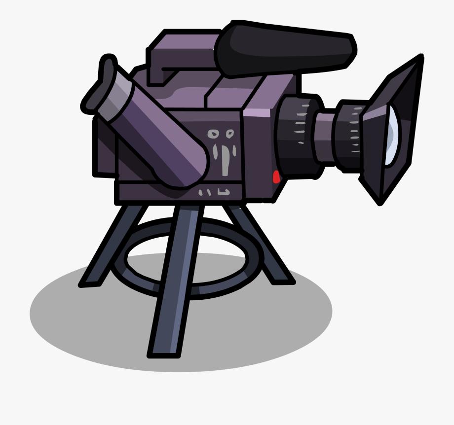 Camera cartoon png . Video clipart film club