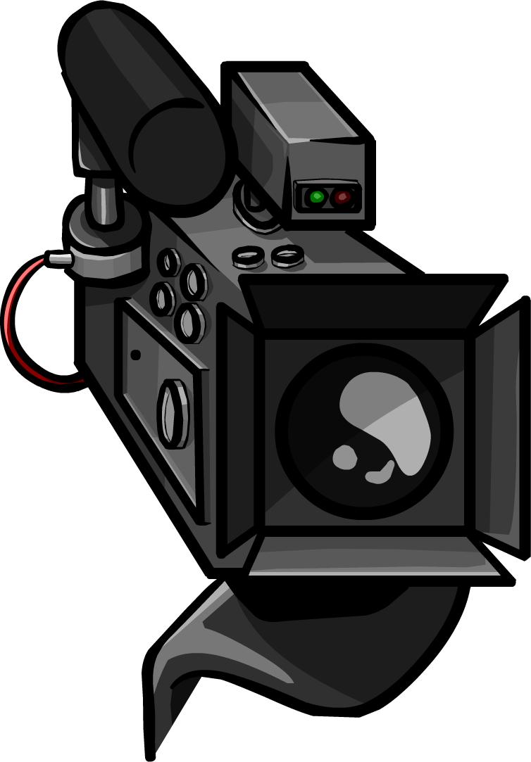 Video clipart video camera. Club penguin wiki fandom