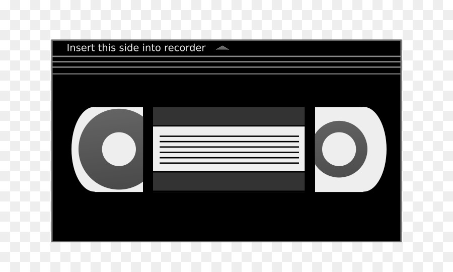 Video clipart video cassette. Tape text technology transparent