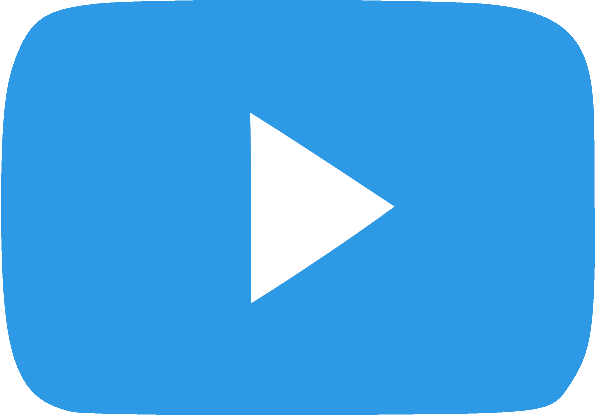 Play button your video. Youtube clipart blue