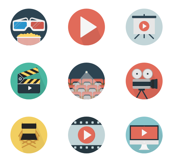play icon packs. Video clipart watch video