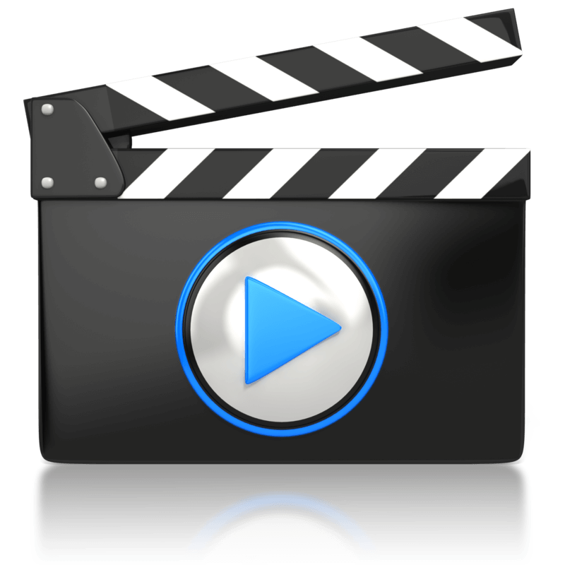collection of high. Video clipart watch video