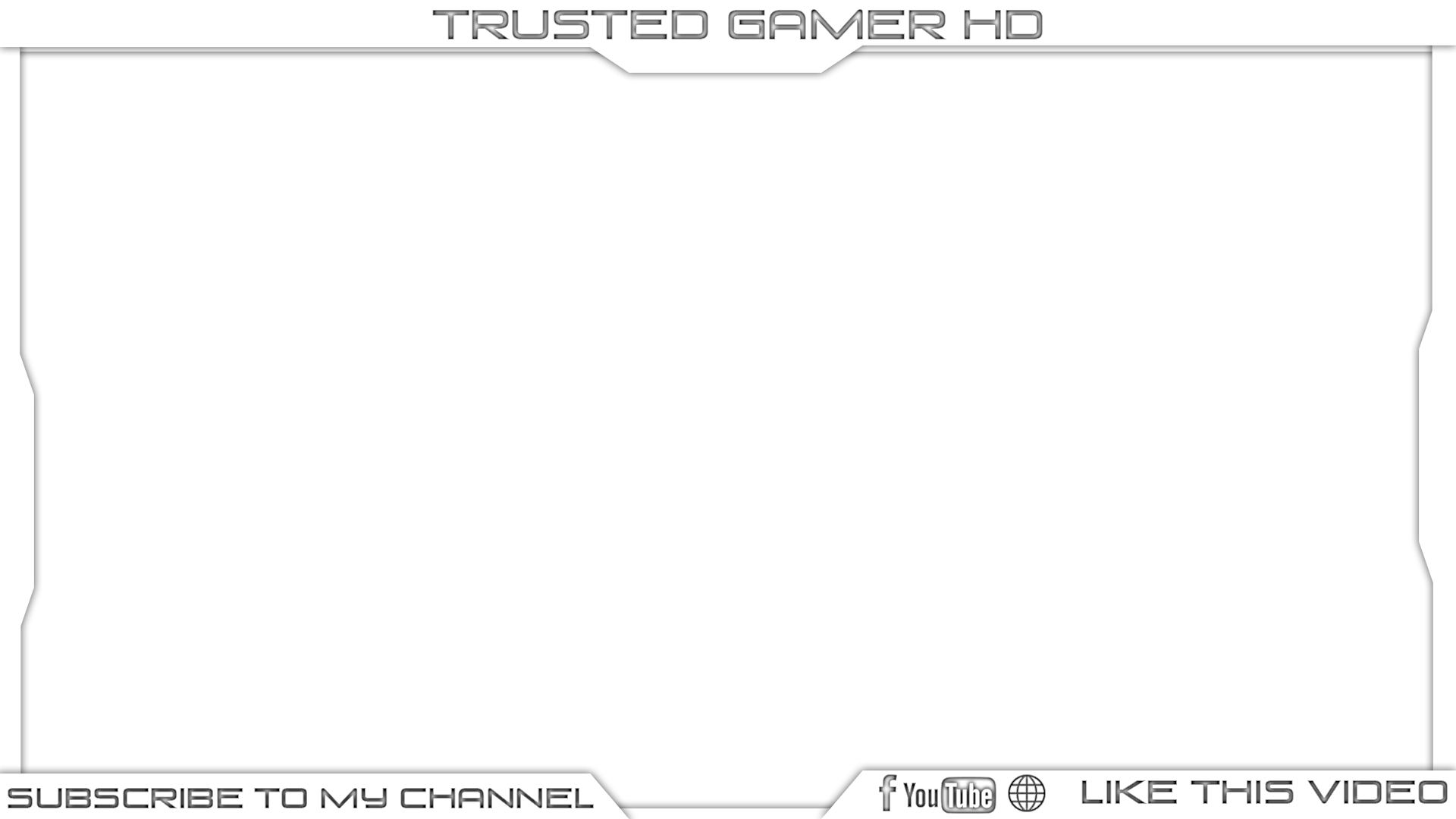 Trusted gamer hd by. Video frame png