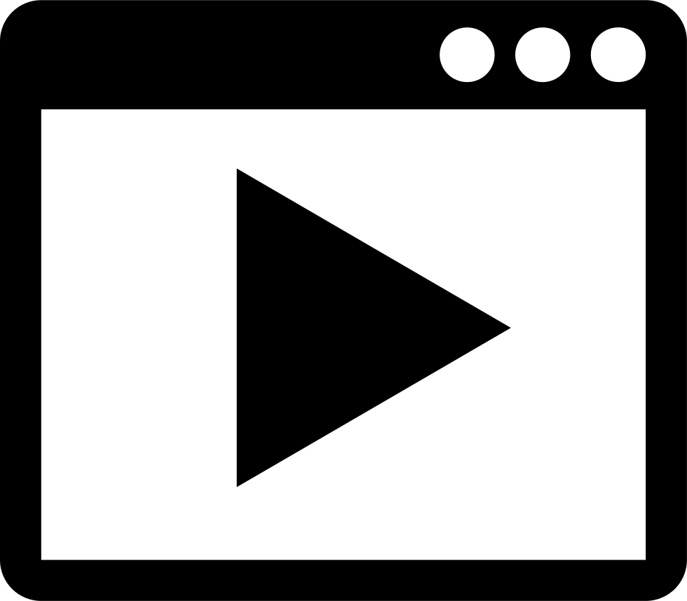 Video icon png. Svg free download onlinewebfonts