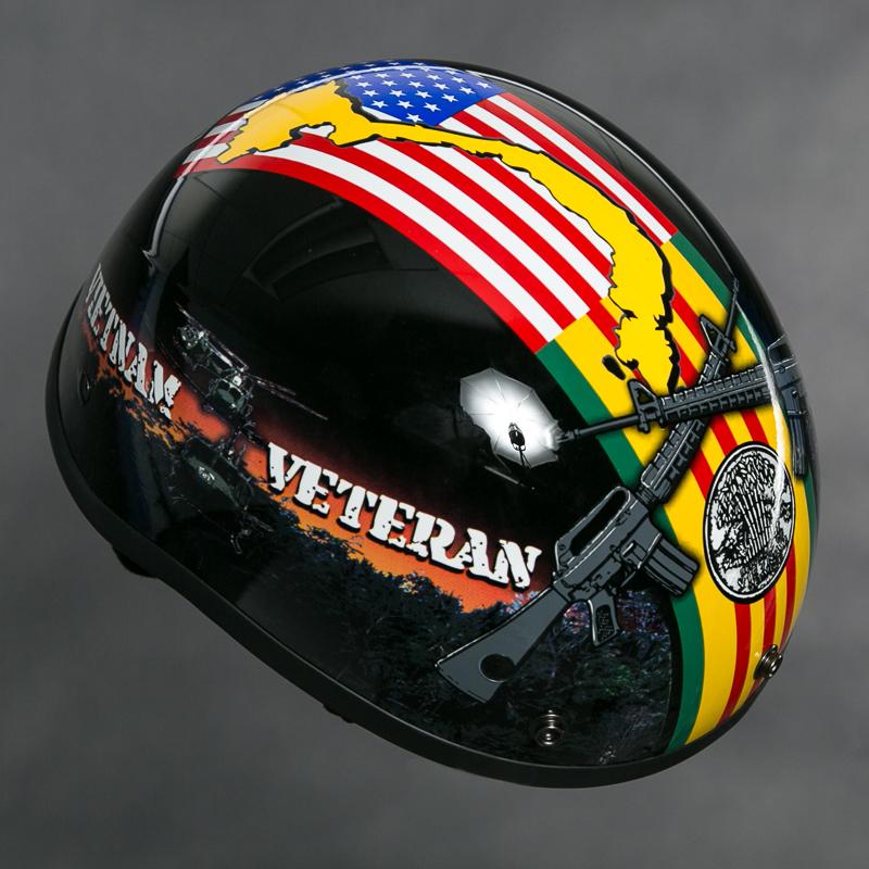 Vietnam helmet png. Motorcycle half veteran image