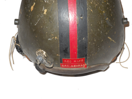 Red mike a troop. Vietnam helmet png