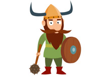 Warrior clipart viking. Free vikings clip art