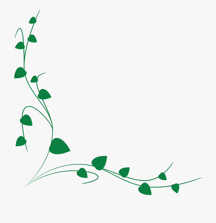 Free of a green. Vines clipart