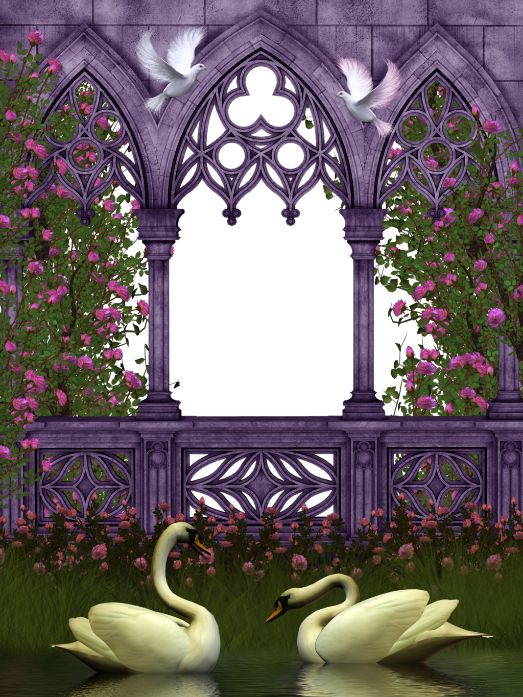 Vines clipart archway. Rose garden by collect