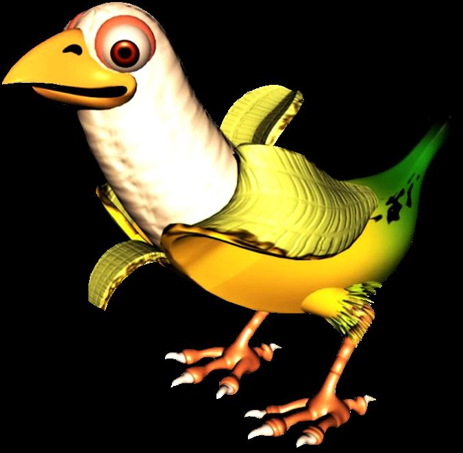Dk vine queen banana. Vines clipart bird