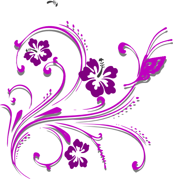 Vines clipart butterfly. Scroll clip art at