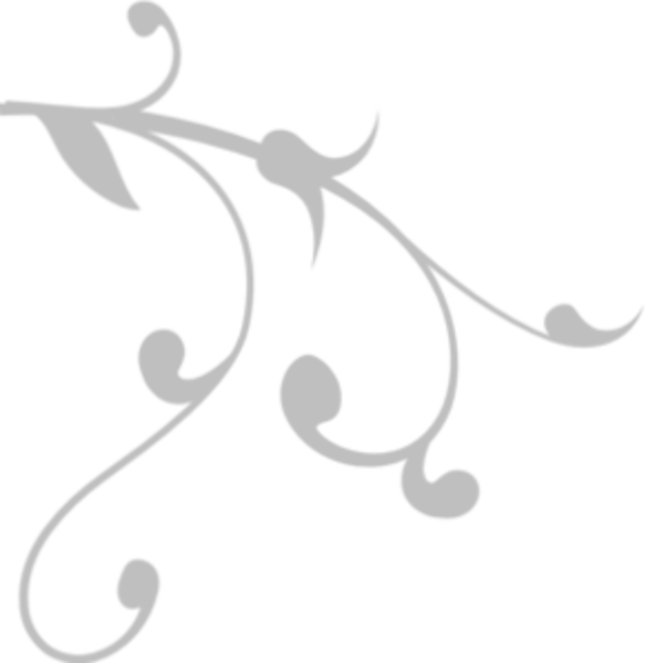 Flipped vine grey free. Vines clipart calligraphy