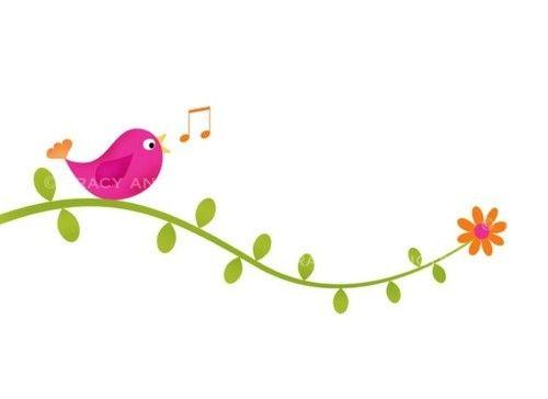 Vines clipart cute. Birds clip art bird