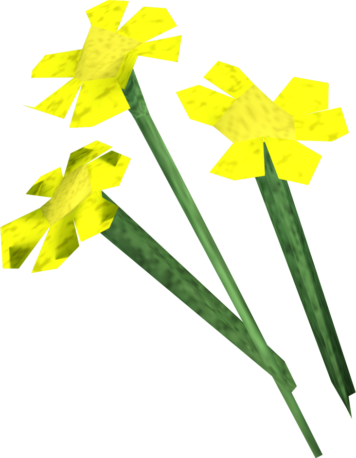 Flowers runescape wiki fandom. Vines clipart yellow flower