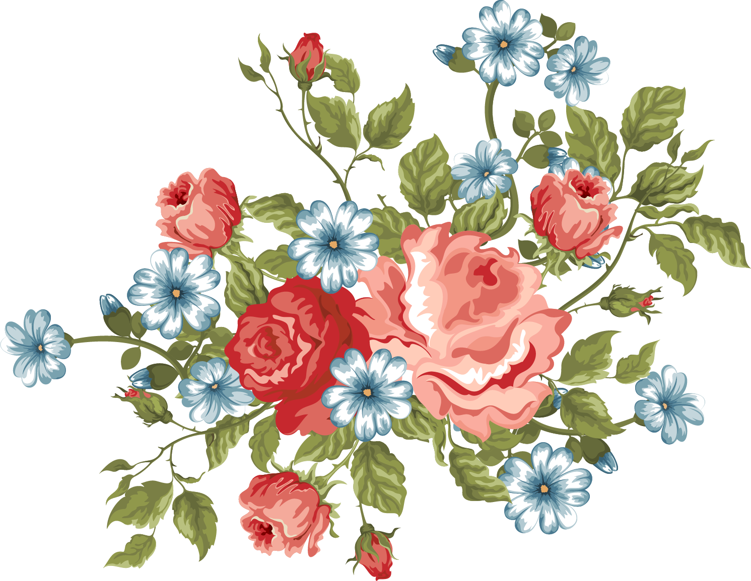 Flowers xxl designs pinterest. Vintage flower png