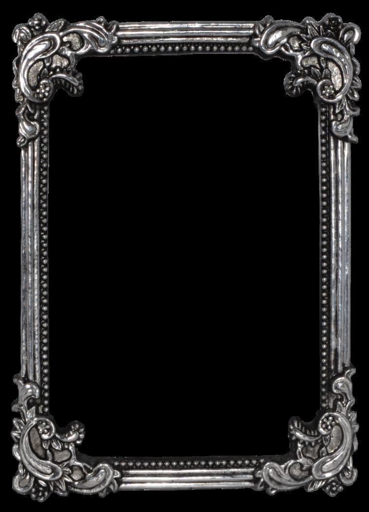 Vintage frame png. Precut by nathl fr