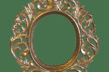 Oval k pictures full. Vintage gold frame png