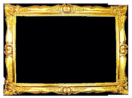 By gazlan sahmeiy on. Vintage gold frame png