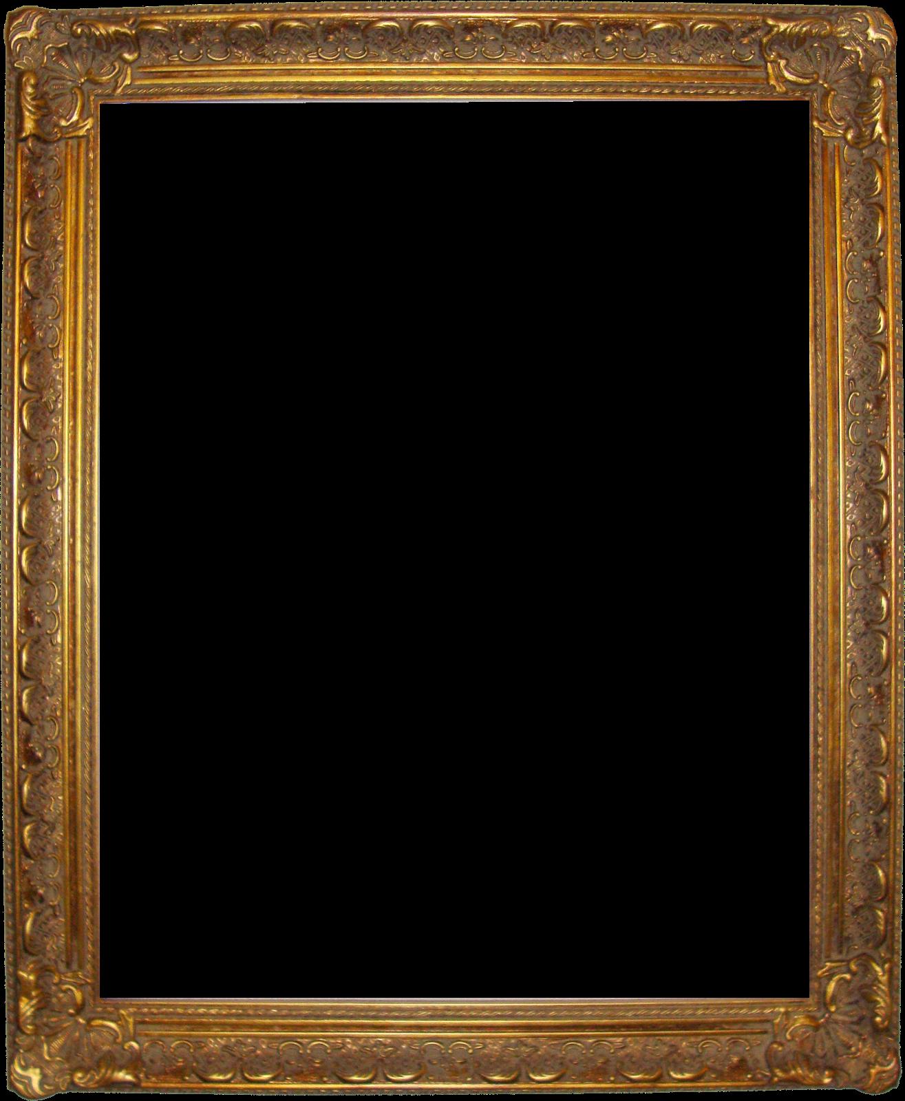 Vintage gold frame png. Simple pinterest simplevintagegoldframepng