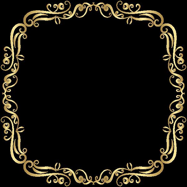 Picture Frames Gold Clip Art - Gilding - Frame Transparent PNG