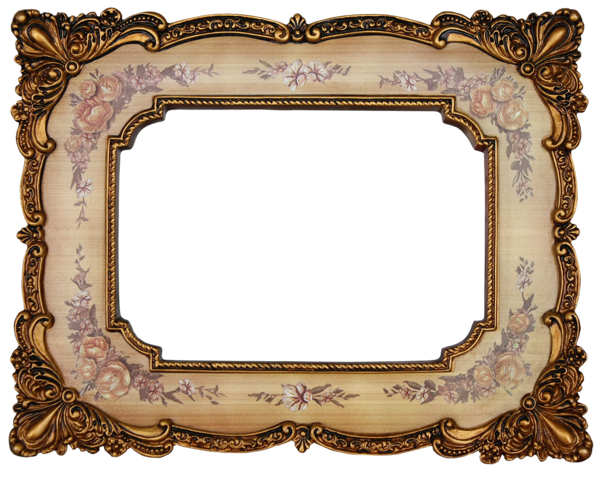 Vintage picture frame png. By mistyt stock on