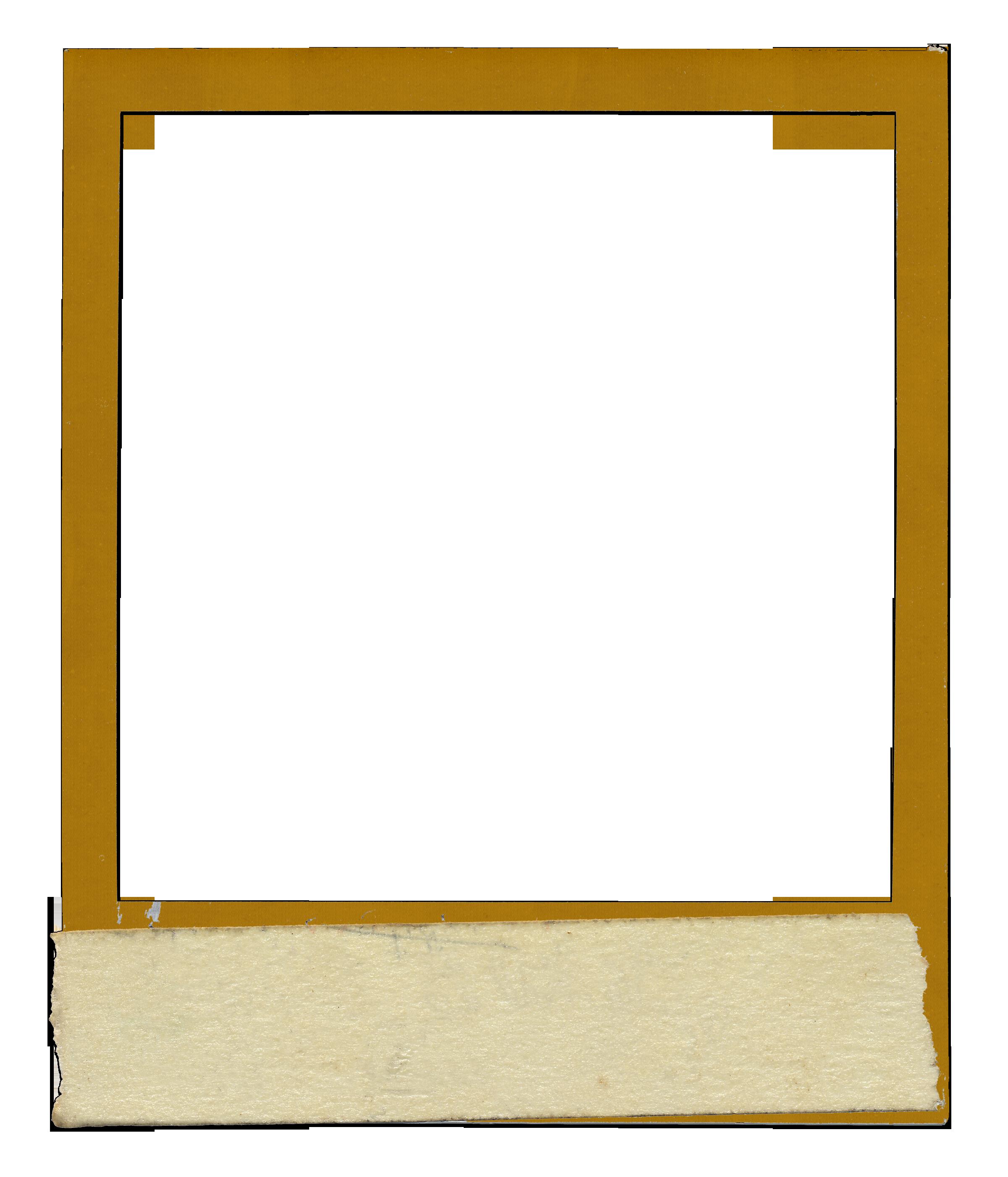 Vintage polaroid frame png. Template psd goal goodwinmetals
