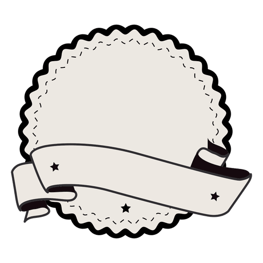 Label badge ribbon with. Vintage vector png
