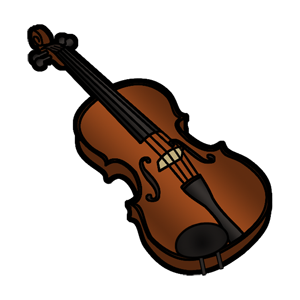 Free clip art image. Clipart music violin