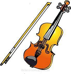 Violin clipart. Clip art panda free