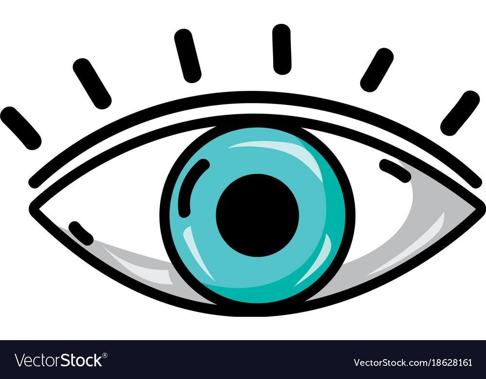 Vision portal . Eye clipart sight