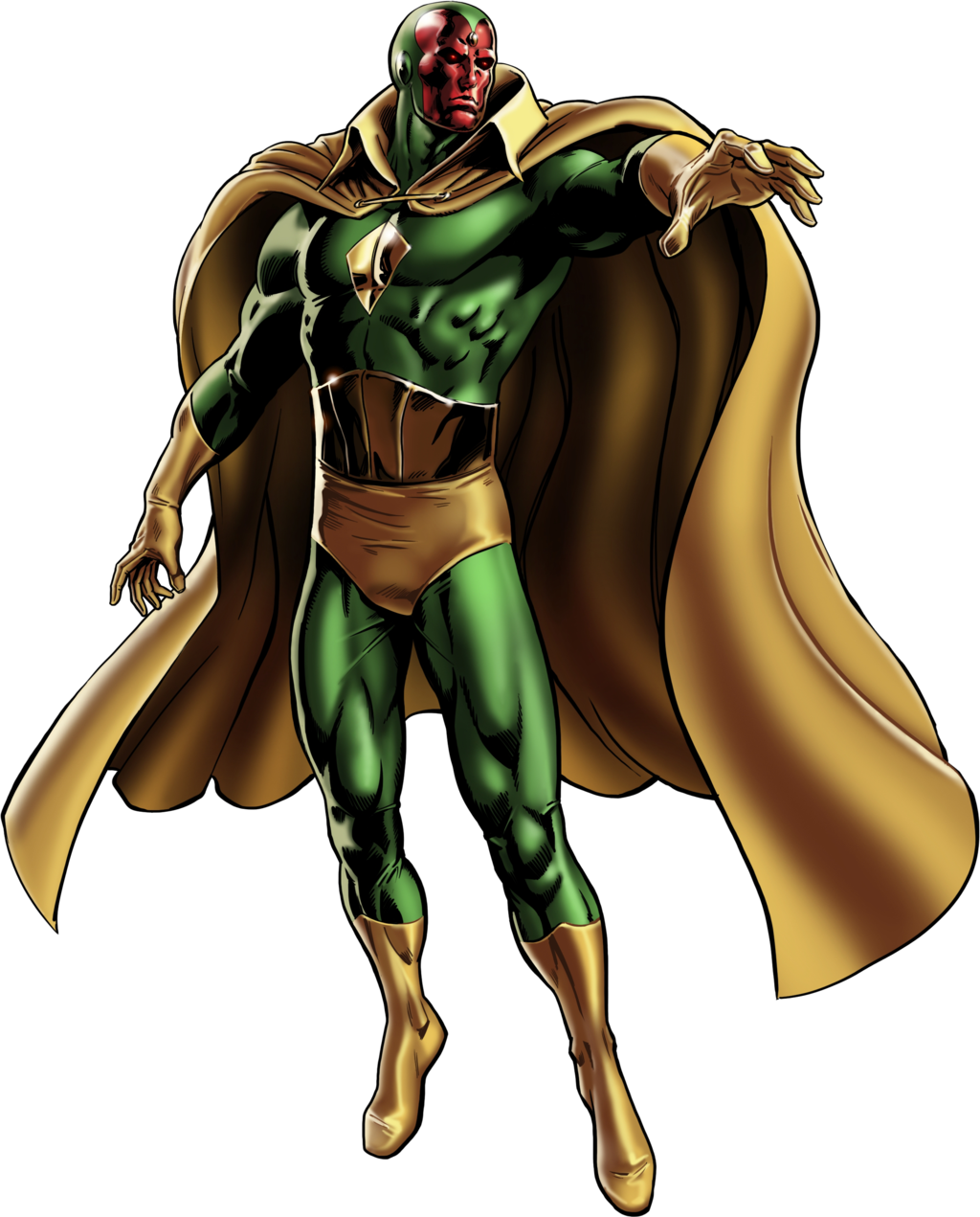 Vision clipart avengers. Marvel alliance ms by