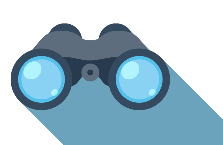 Vision clipart binoculars. Magnifeye synergist project management