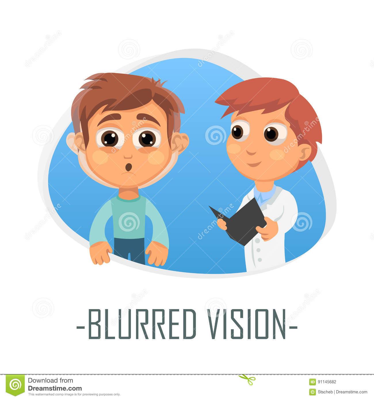 Portal . Vision clipart blurry vision