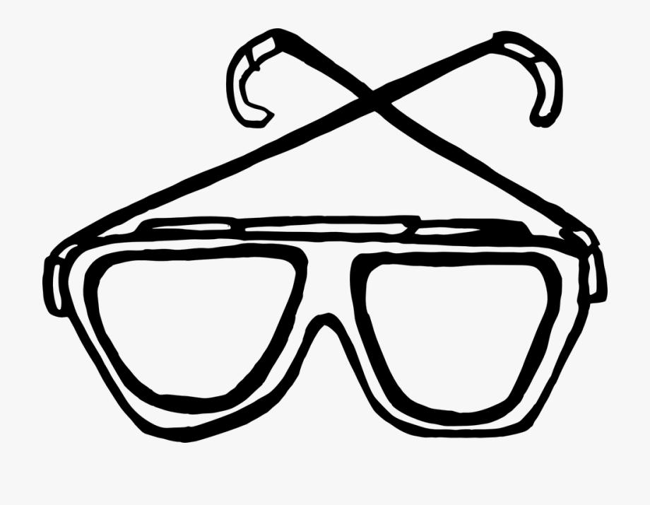 Lens glass glasses clip. Vision clipart goggles frame