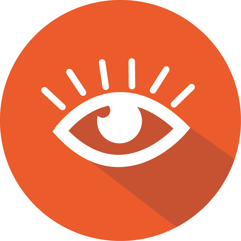 Insurance magnum agency. Vision clipart healthy eye
