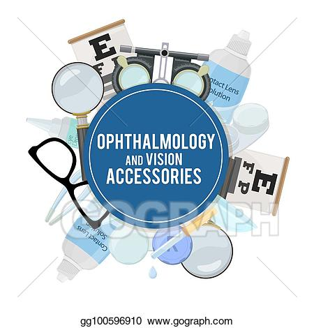 Vision clipart visual. Vector optics and acuity