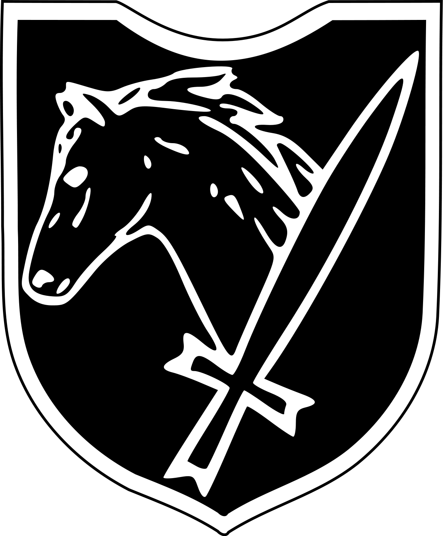 th ss cavalry. Vision clipart ww 2