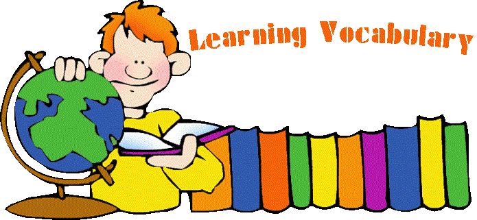 Novin academy. Vocabulary clipart