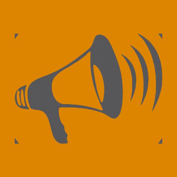 Megaphone voice projection