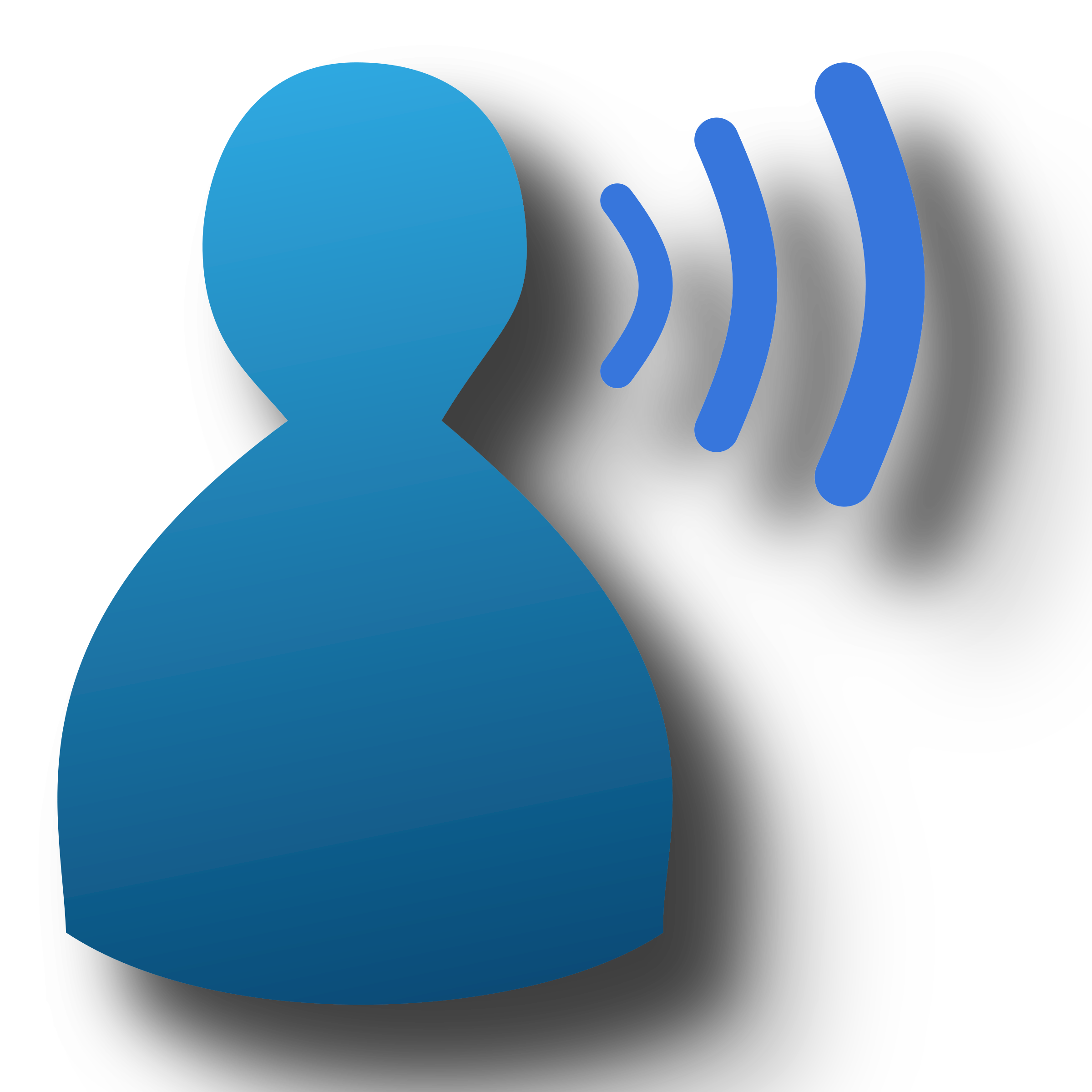 Big image png. Voice clipart