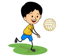 Sports free to download. Volleyball clipart