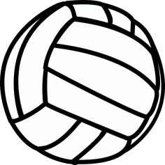 Volleyball clipart. Free printable clip art
