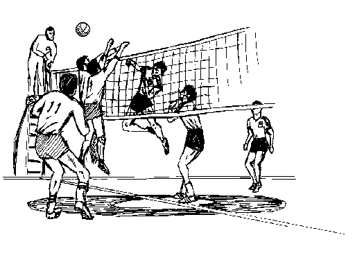 Free images graphics . Volleyball clipart animated