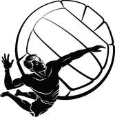 Volleyball clipart boys volleyball. Clip art library