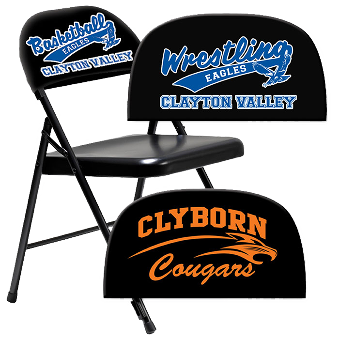 Stadium cushions and covers. Volleyball clipart chair