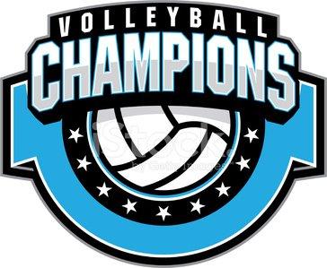 Champion premium clipartlogo com. Volleyball clipart champions