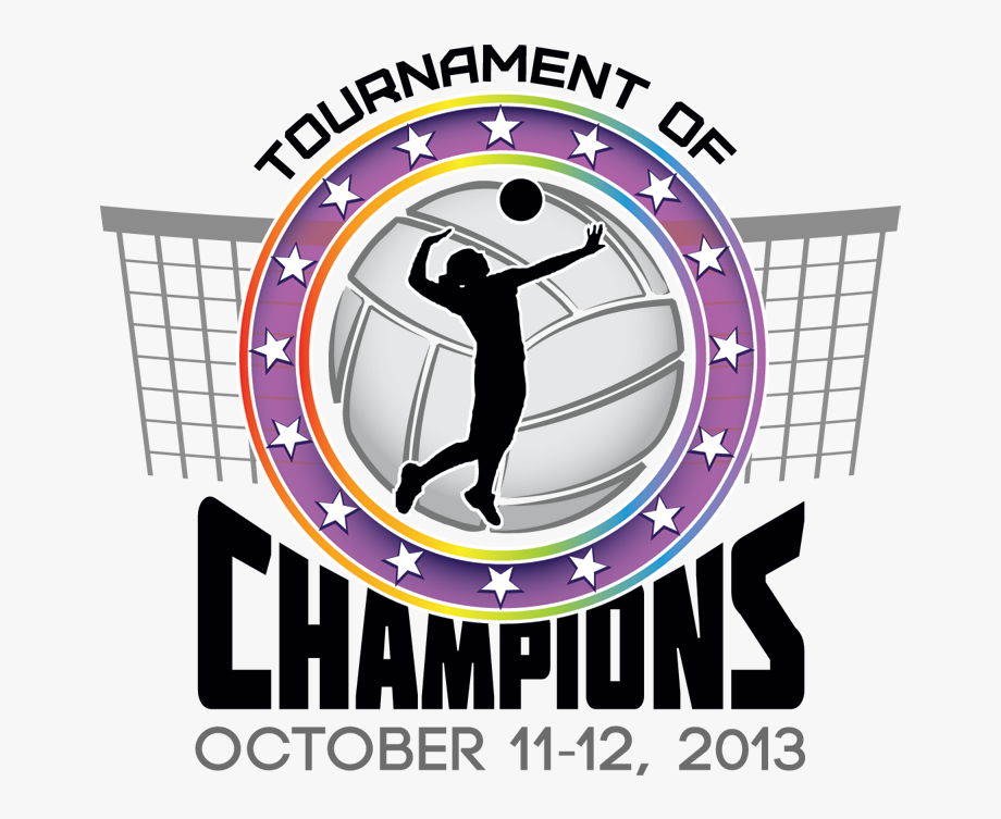 Volleyball clipart champions. Black and white